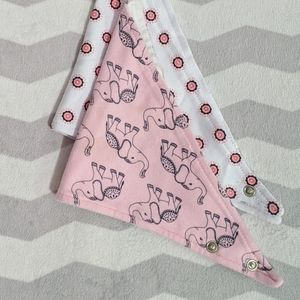 Other - Girls Handkerchief Bibs